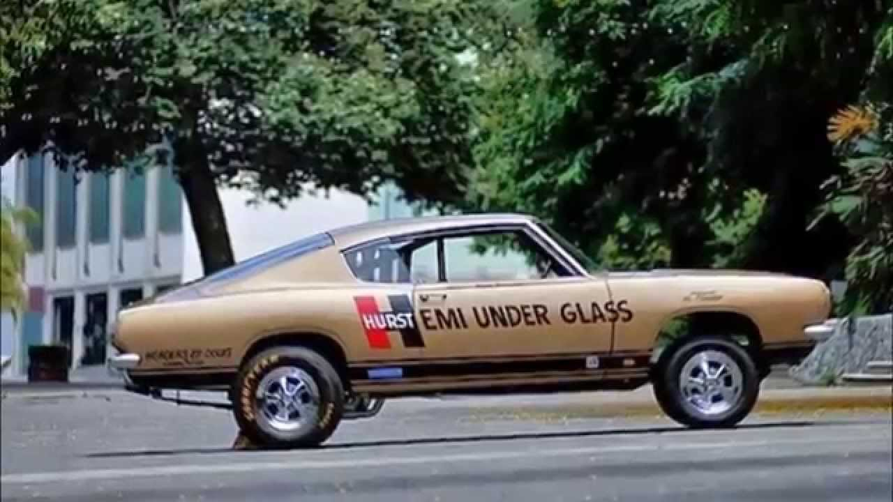 1967 Plymouth Barracuda Hurst Hemi Under Glass Collection