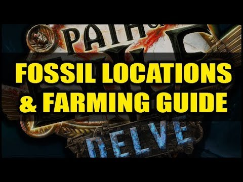 Path Of Exile Delve: Fossil Locations & Farming Guide - Easy Sanctified, Prismatic, Gilded & More!