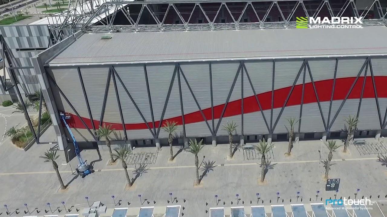 Beer Sheva Israel Map%0A MADRIX   Turner Stadium in Be u    er Sheva  Israel