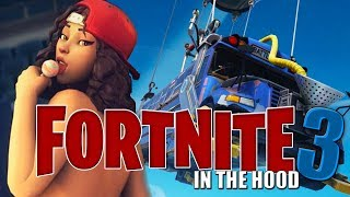 FortNite In The Hood 3| What Really Happens In The Bus| ft Reggie COUZ Berleezy YourRAGE| Short Film