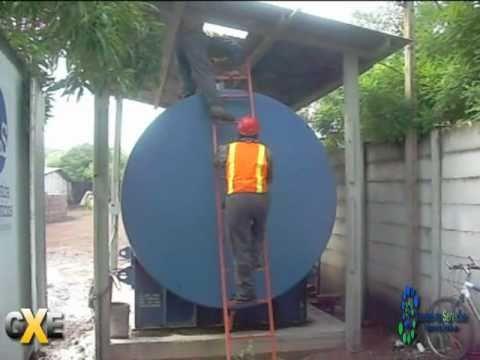 Combustible contaminado en tanque youtube for Limpieza de tanques de combustible