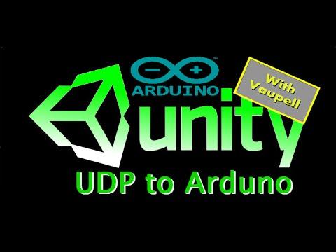 Arduino and Unity over UDP communication