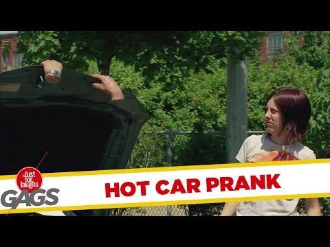 Hands on a Hot Car Prank
