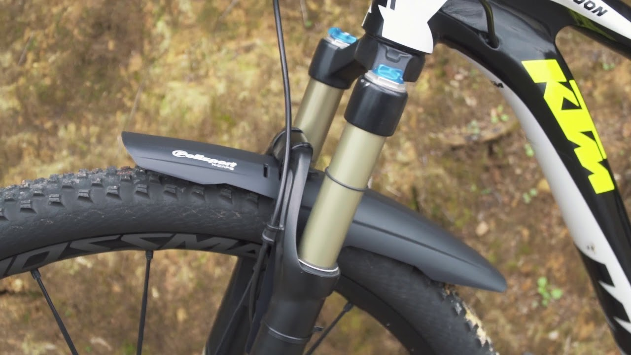 Black MTB Front /& Rear Mudguards CRUD RacePac