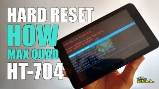 Hard Reset no Tablet HOW MAX QUAD (HT-704) #UTICell
