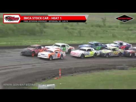 Stock Car/Modified Heats - Park Jefferson Speedway - 6/8/19