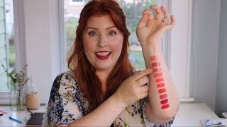 Erin's Faces - Mineral Lipstick Shades & Names