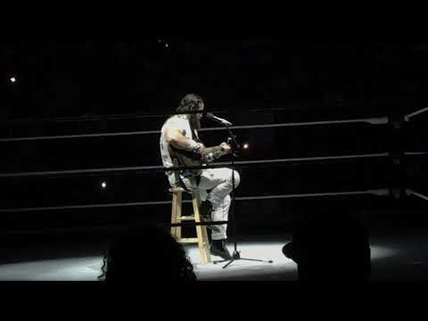 WWE Live -Elias performance and promo at Madison Square Garden in NYC