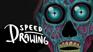 Speed Drawing: They Live