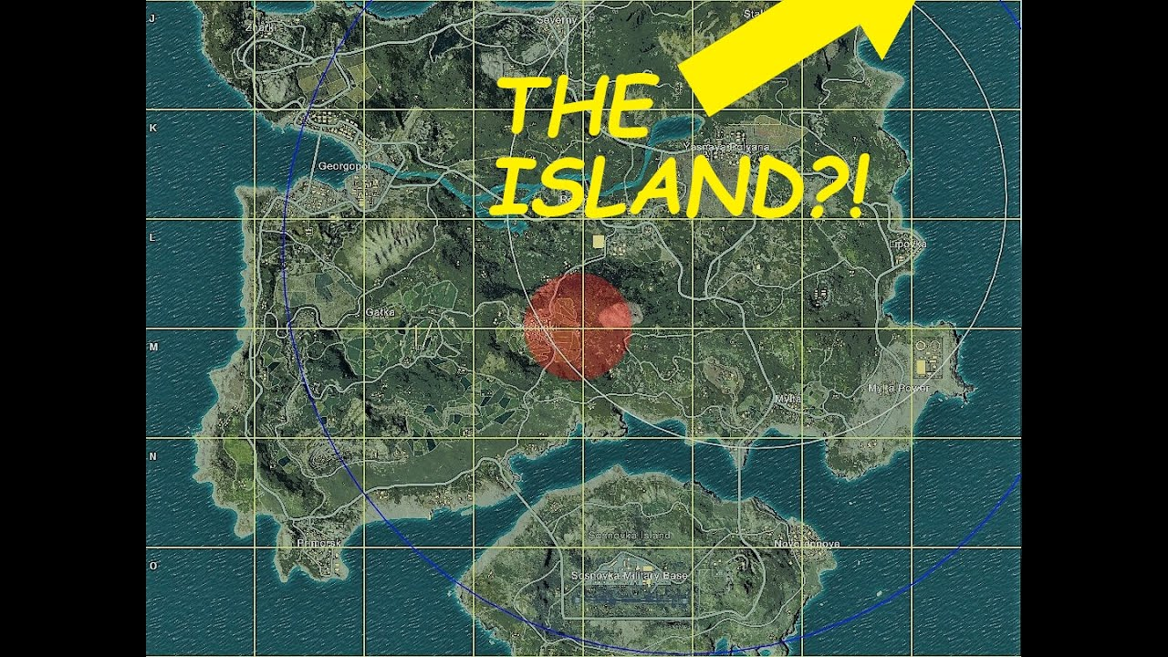 New Pubg Map Is Coming By July: Island? (PUBG)