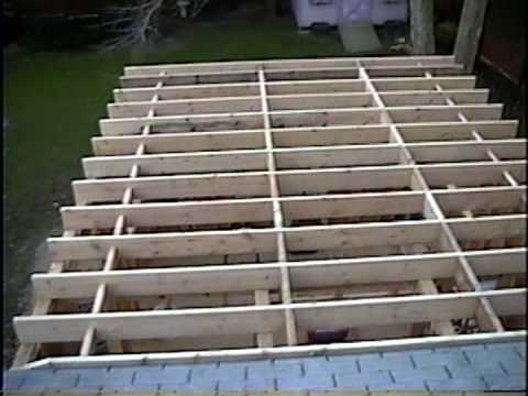 DIY 69 - New bedroom cont'd - framing stage - ceiling ...