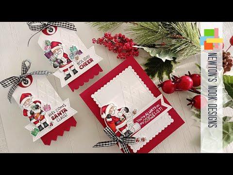Newton's Nook Designs Holiday Release   Dear Santa Christmas Card