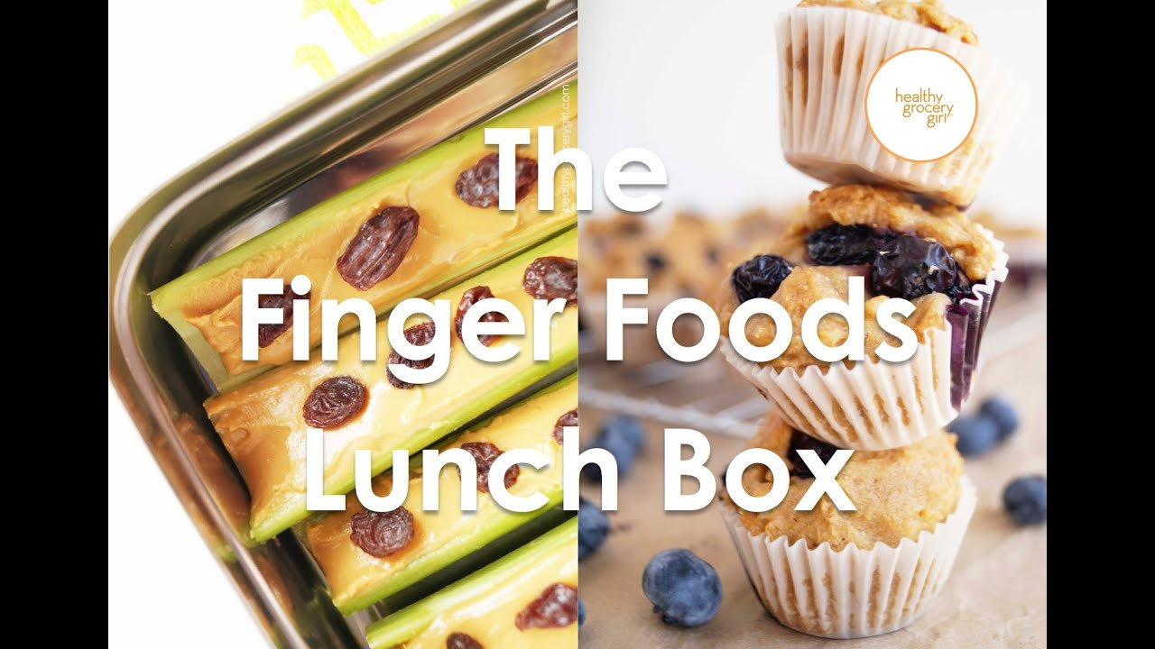 Fall Recipes The Finger Foods Lunch Box