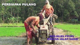 PERSIAPAN PULANG Traktor Sawah merk Quick G1000 Tractors Preparation to go home