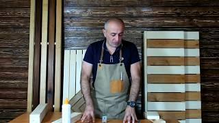 видео Простой полок для бани — делаем сами