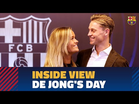[BEHIND THE SCENES] Frenkie de Jong's presentation from the inside