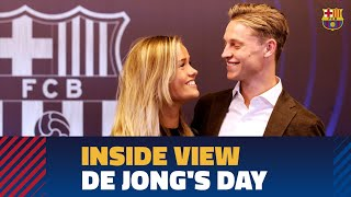 [BEHIND THE SCENES] Frenkie de Jong