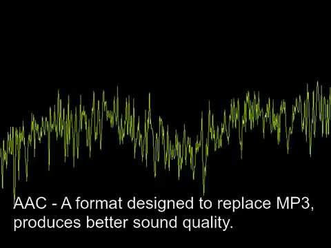 Audio compression formats comparison at low bitrate