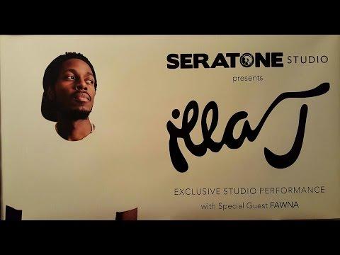 Seratone Studio Presents: Illa J Exclusive Studio Performance With Live Band