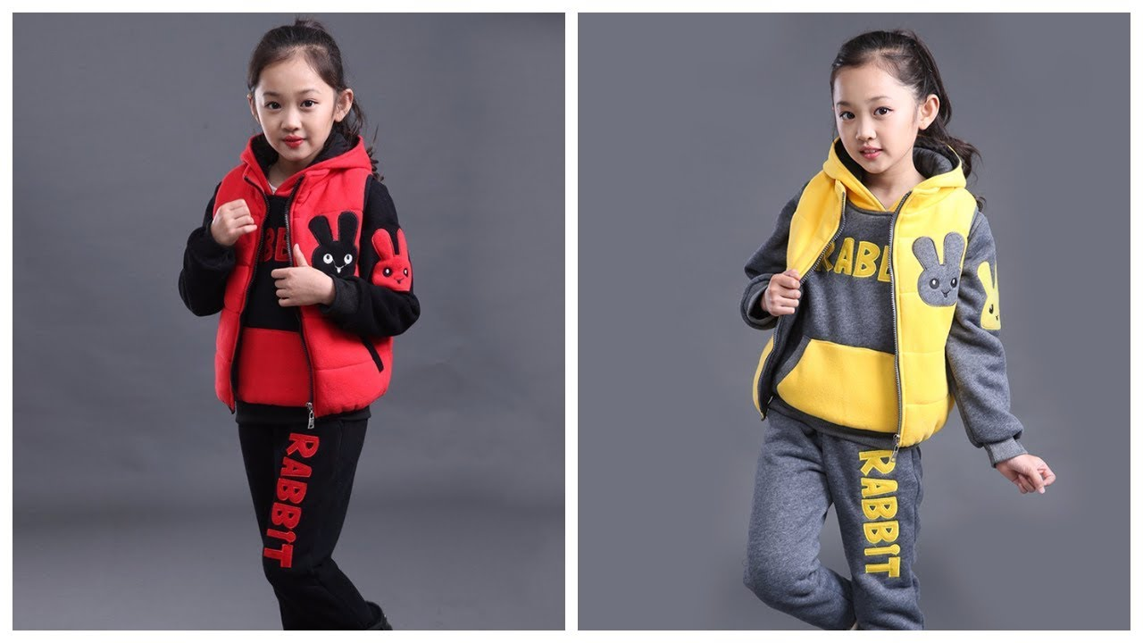 Детская одежда с AliExpress Тёплый спортивный костюм из трёх предметов
