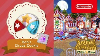 Animal Crossing: Pocket Camp - Bob's Circus Cookie