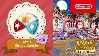 Animal Crossing: Pocket Camp - Bob's Circus Cookie