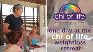Day in the life at Chi of Life Retreat // Weightloss and Wellness // Sunshine Coast
