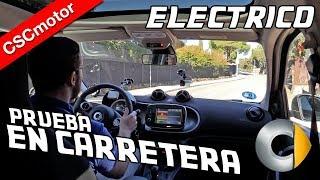 smart forfour eléctrico - 2018 | Prueba en carretera