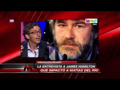Matías del Río comentó detalles desconocidos de la entrevista a James Hamilton