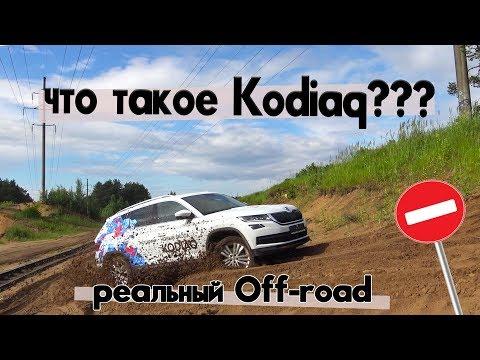 Настоящий Оффроуд Шкода Кодиак (SKODA Kodiaq) Тест Драйв (обзор, отзыв)