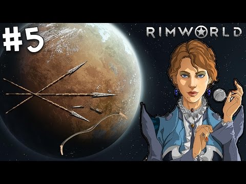 Rimworld The Lost Tribe Cassandra Classic Challenge! Operation RESCUE ORANGE! #5