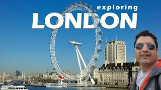 Exploring London by Walk | Buckingham Palace | UK Parliament | Europe Trip EP-4