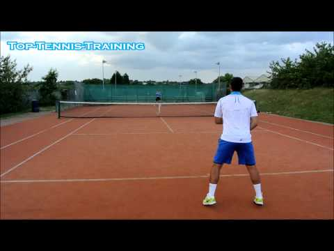 Tennis Practice   Hitting With A Former ATP Pro #1