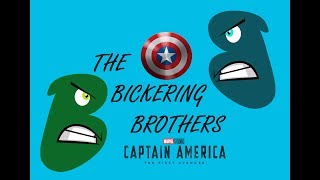 Brothers Bicker about Captain America The First Avenger (2011)