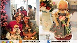 Fazendo lindas bonecas com Millyta Vergara