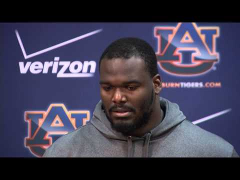 Auburn FB Defensive Lineman Jeffrey Whitaker