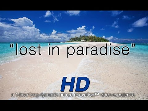 """Lost in Paradise"" (Just Nature Sounds) Fiji Relaxation Video 1080p HD"