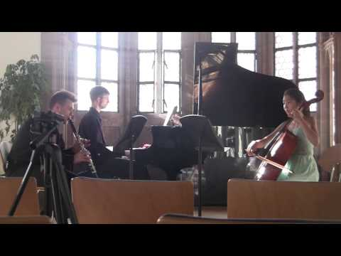 Beethoven trio in B-Flat Major, Op.11 for clarinet, cello, and piano,