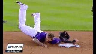 MLB Bad Sliding