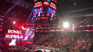 Ronda Rousey Debut Woman´s Royal Rumble 2018 Entrance Live Wells Fargo Center Live HD