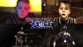 Star Wars: The Force Unleashed (PS2 VS PS3) HD 1080p