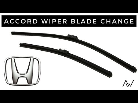 How To Change Wiper Blades On A Honda Accord | 2008 - 2017