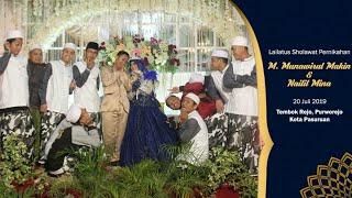 Gambar cover ISBAM - Jamalul Wujud | Lailatus Sholawat Pernikahan M. Makin & Nailil Mina