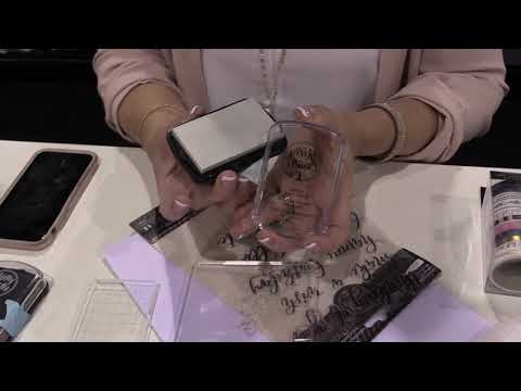American Crafts | Kelly Creates Stamps | Creativation 2019