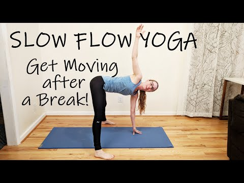 Yoga to Get You Moving after a Break