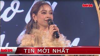 """Giải trí 24h   Ca sĩ Chi Pu lần đầu tiên trình diễn ca khúc """"Từ hôm nay"""""""