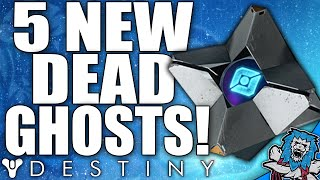 Destiny: 5x Secret New Hidden DEAD GHOST Locations / The Taken King (DAT GRIMOIRE DOE!)