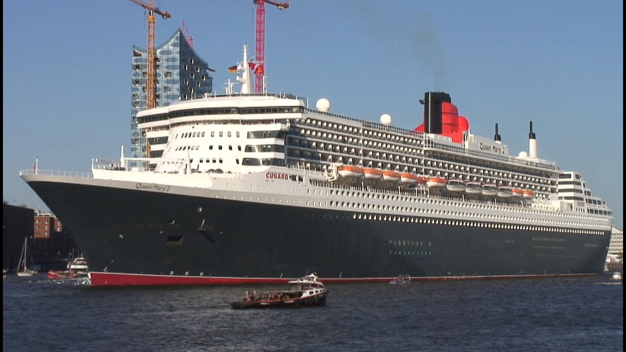 Auslaufen der queen mary 2 beim hafengeburtstag hamburg for Queen mary 2 interieur