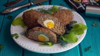 Зразы мясные с яйцом в духовке