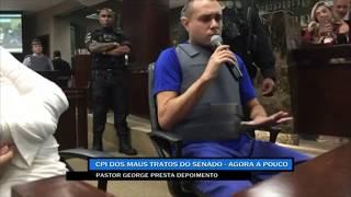 Pastor George diz ser inocente das mortes de Joaquim e Kauan